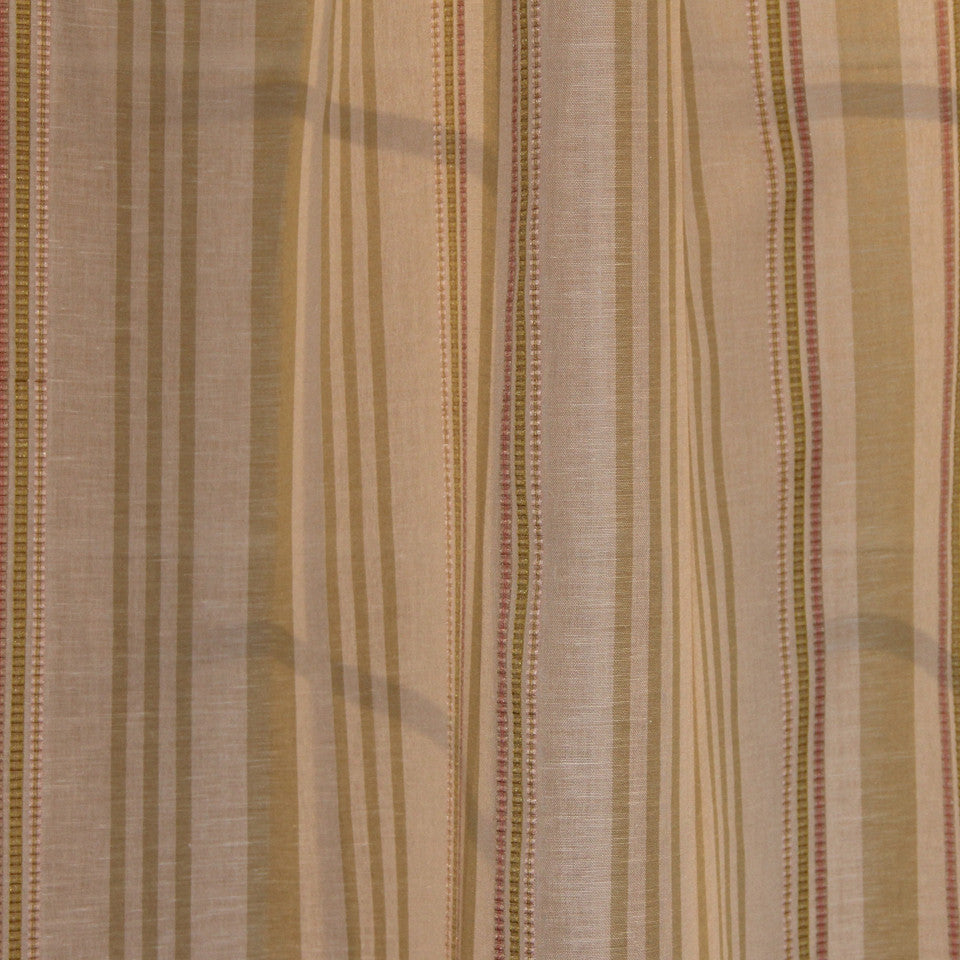 NATURAL SHEERS LIGHT NEUTRALS Long Gone Fabric - Meadow