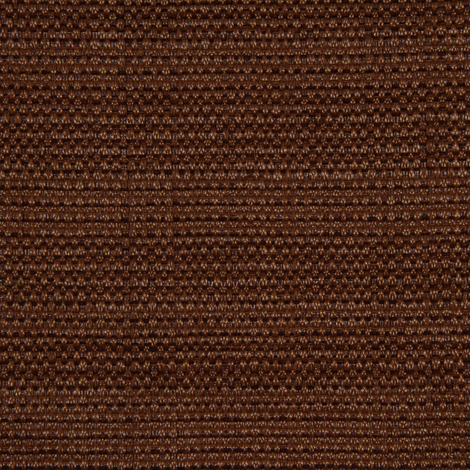 RUSTIC JUTE AND RAFFIA Raffia Solid Fabric - Teak