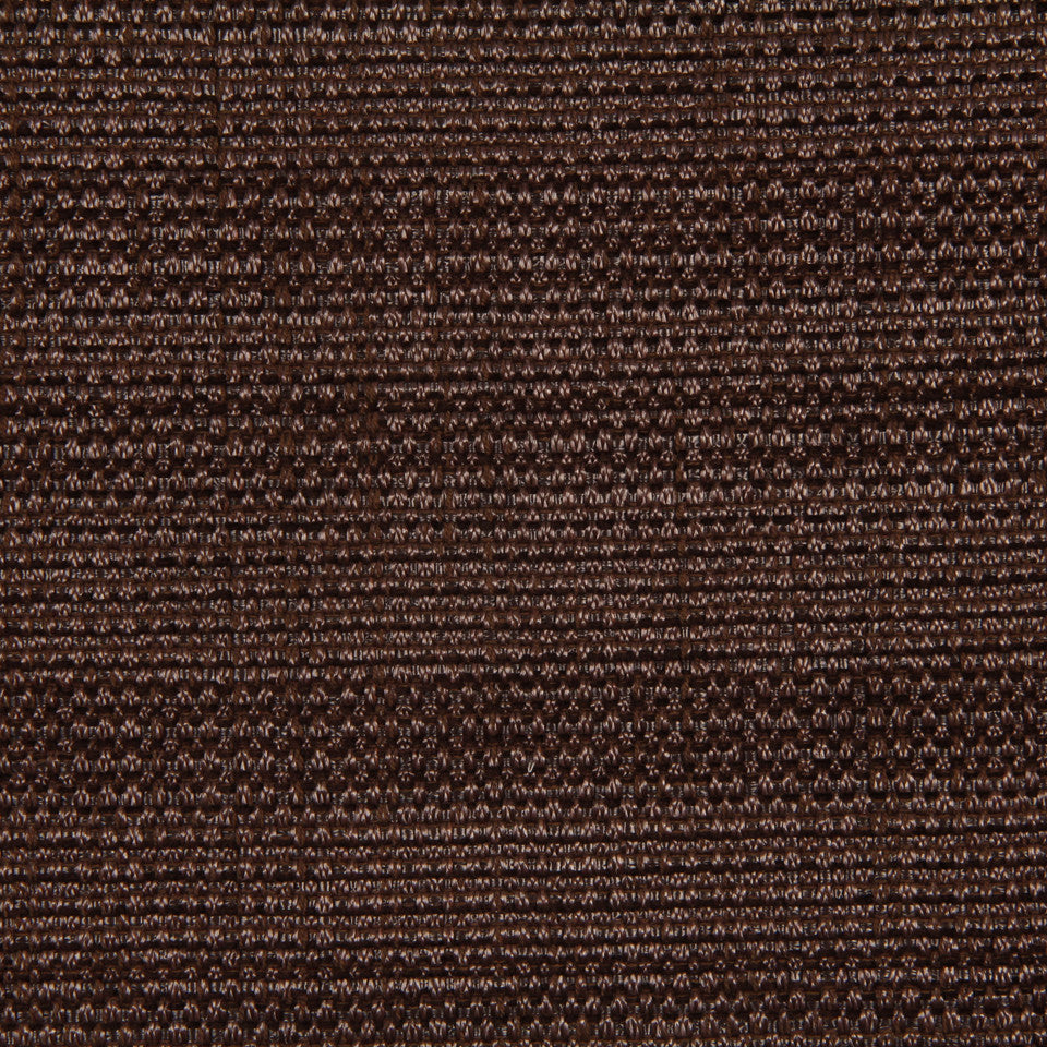 RUSTIC JUTE AND RAFFIA Raffia Solid Fabric - Walnut
