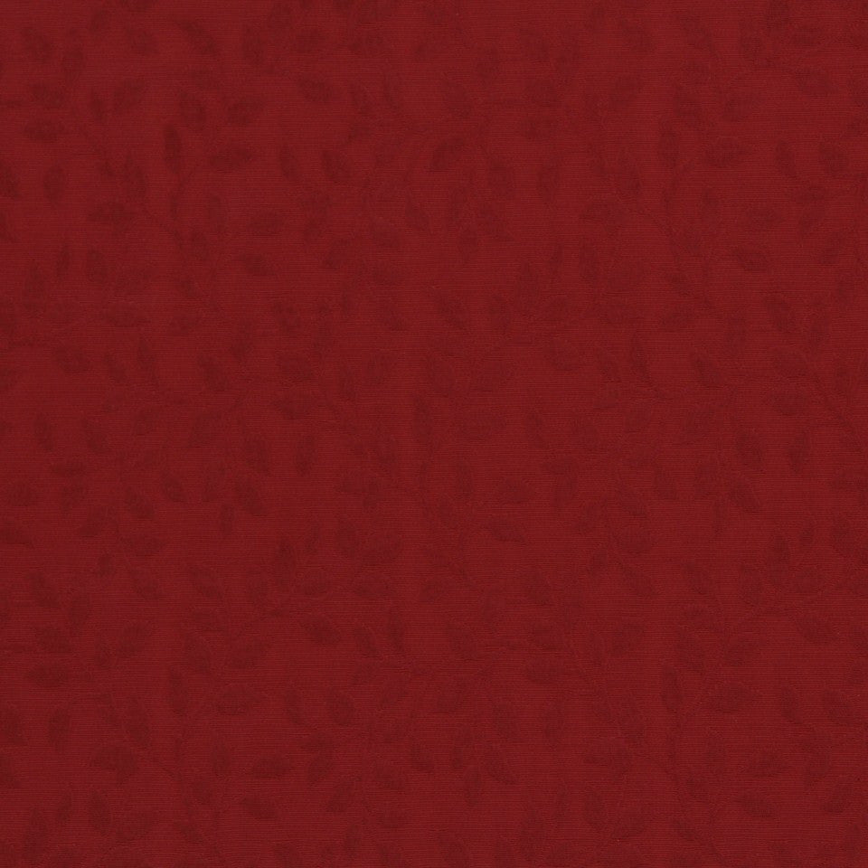 LAVA-RED HOT-GARNET Center Vine Fabric - Poppy