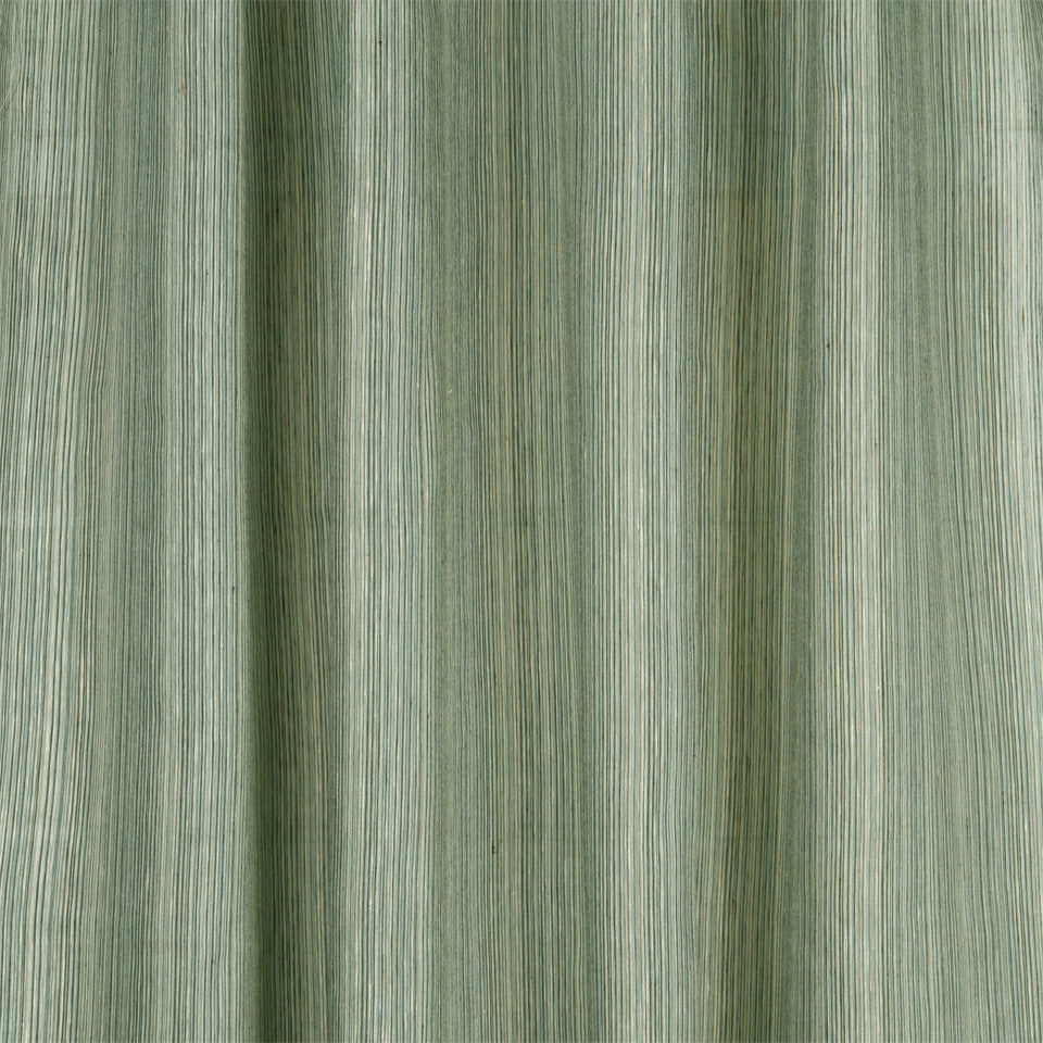 MODERN SHEERS Encino Stripe Fabric - Skyline