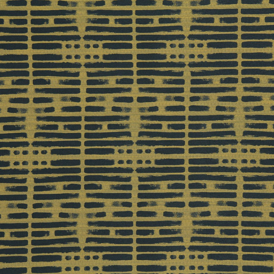DWELLSTUDIO MODERN LUXURY Brushwork Fabric - Citrine