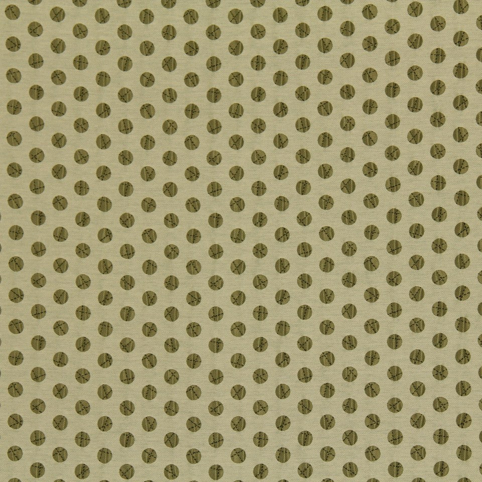 DWELLSTUDIO MODERN LUXURY Pucker Dot Fabric - Camel