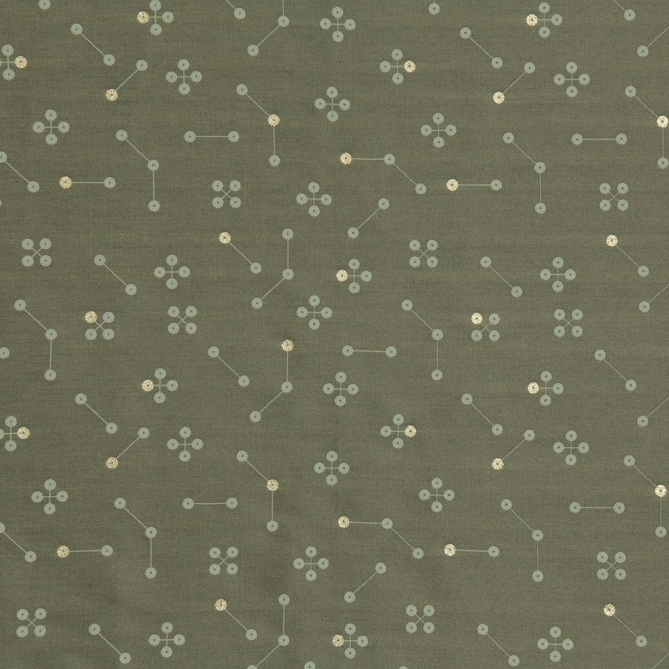 DWELLSTUDIO MODERN LUXURY Constellation Fabric - Shale