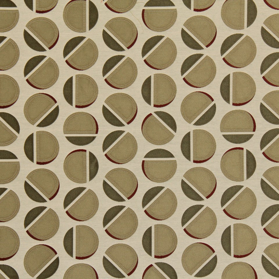 DWELLSTUDIO MODERN LUXURY Deco Dot Fabric - Pearl