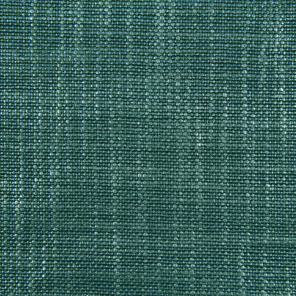 DWELLSTUDIO MODERN LUXURY Glazed Linen Fabric - Aquamarine