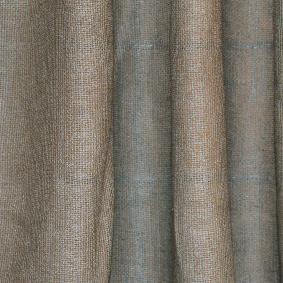 SOLID LINEN SHEERS Outside View Fabric - Seafoam