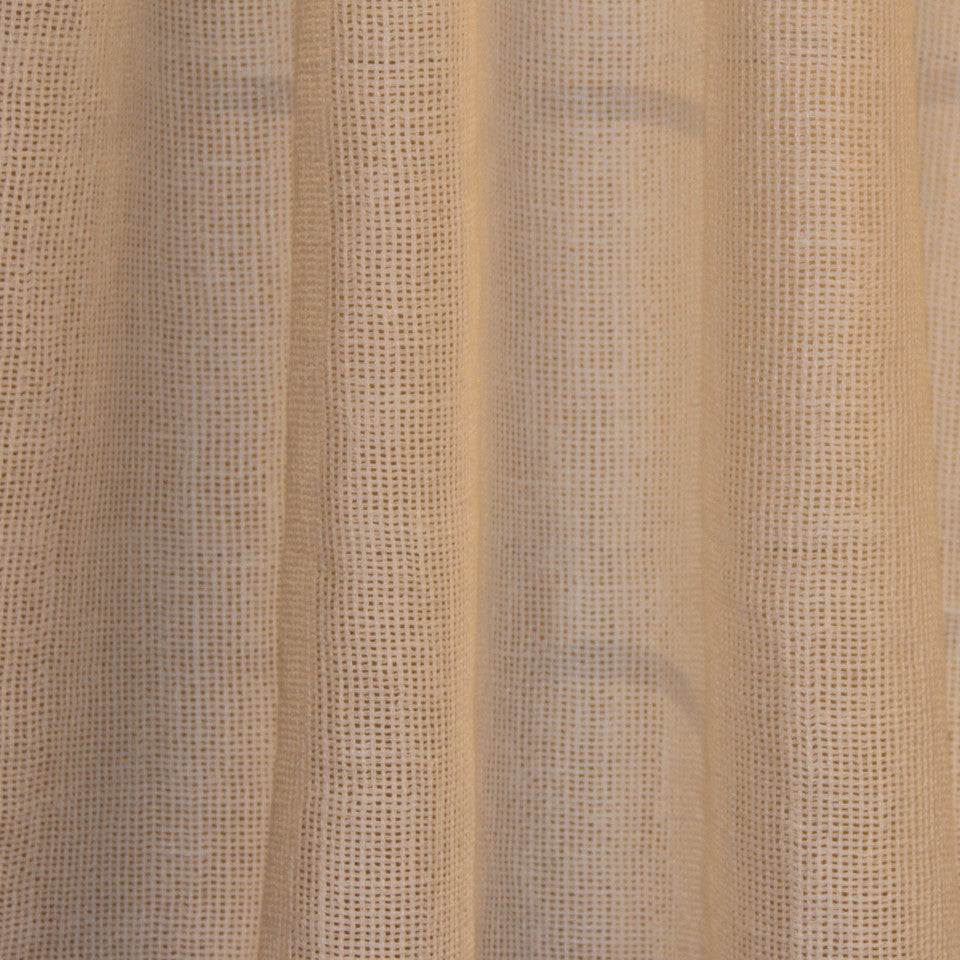 SOLID LINEN SHEERS Outside View Fabric - White