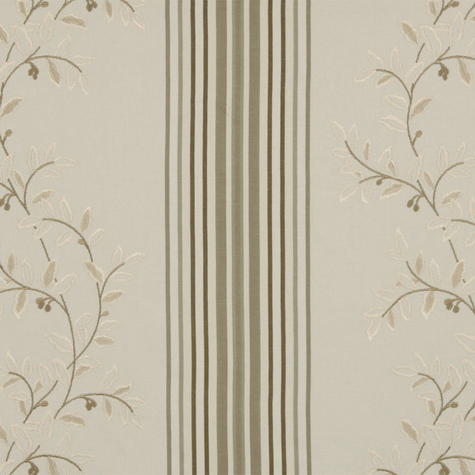 RUSTIC STRIPES AND PLAIDS MP Belle Stripe Fabric - Sandstone