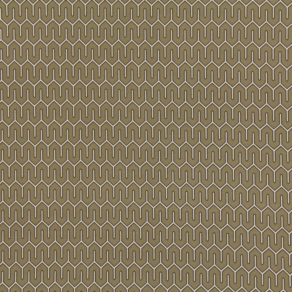 Mazescene Fabric - Taupe