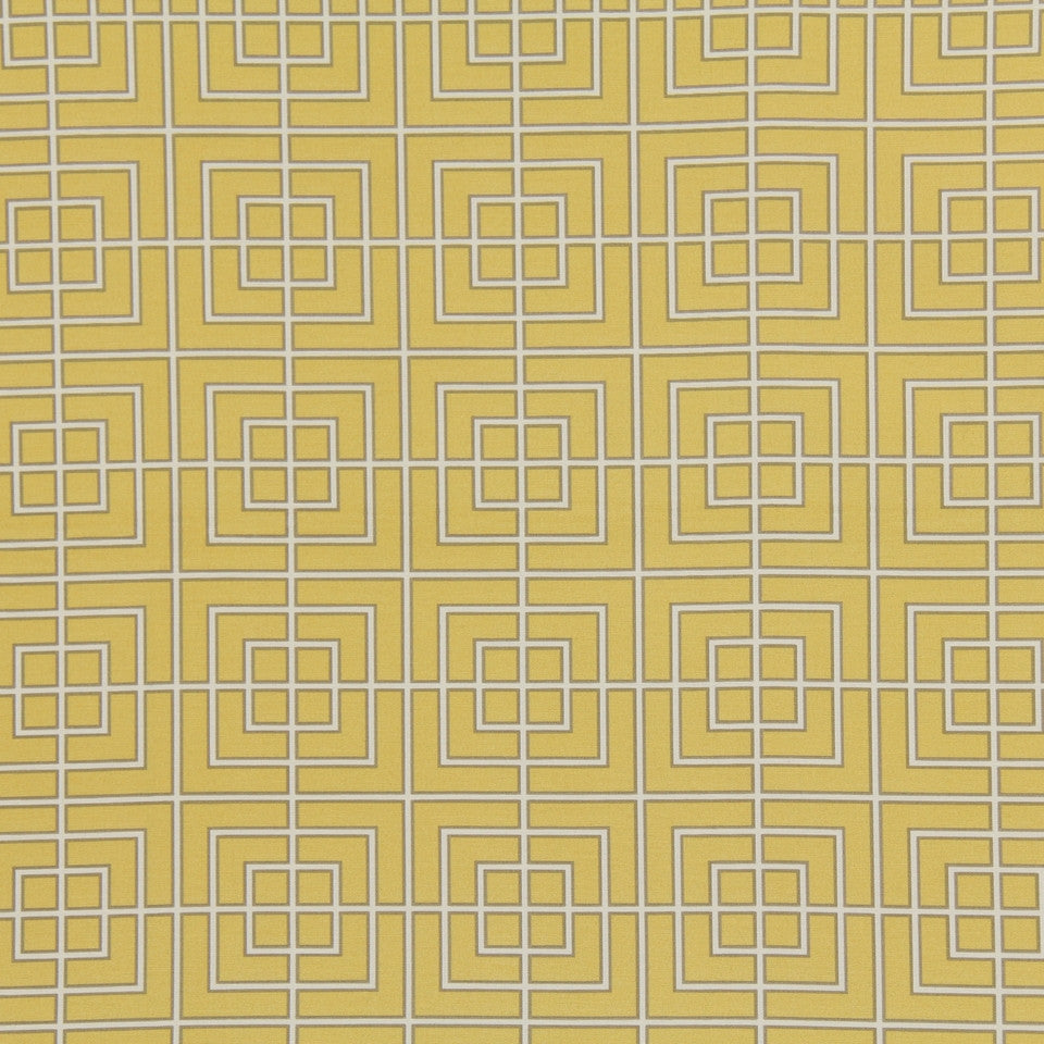 Fretscene Fabric - Canary
