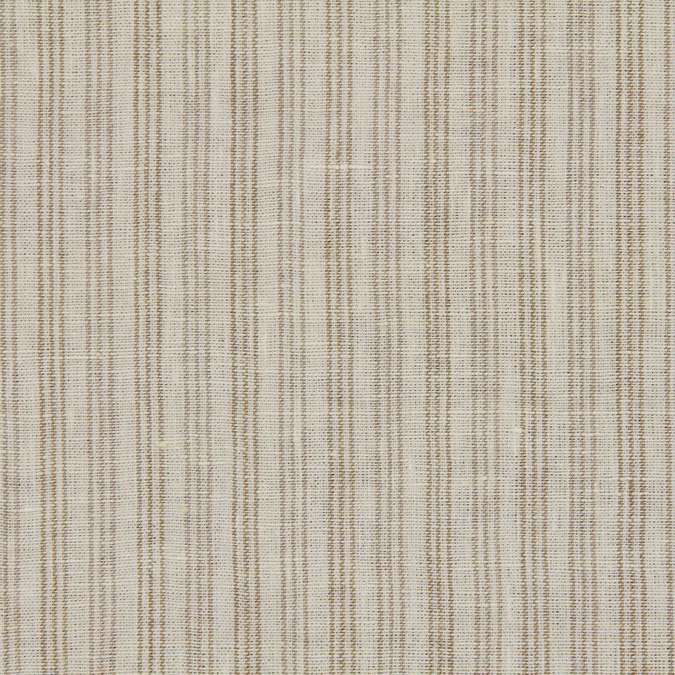 RUSTIC STRIPES AND PLAIDS MP Lowell Stripe Fabric - Ivory