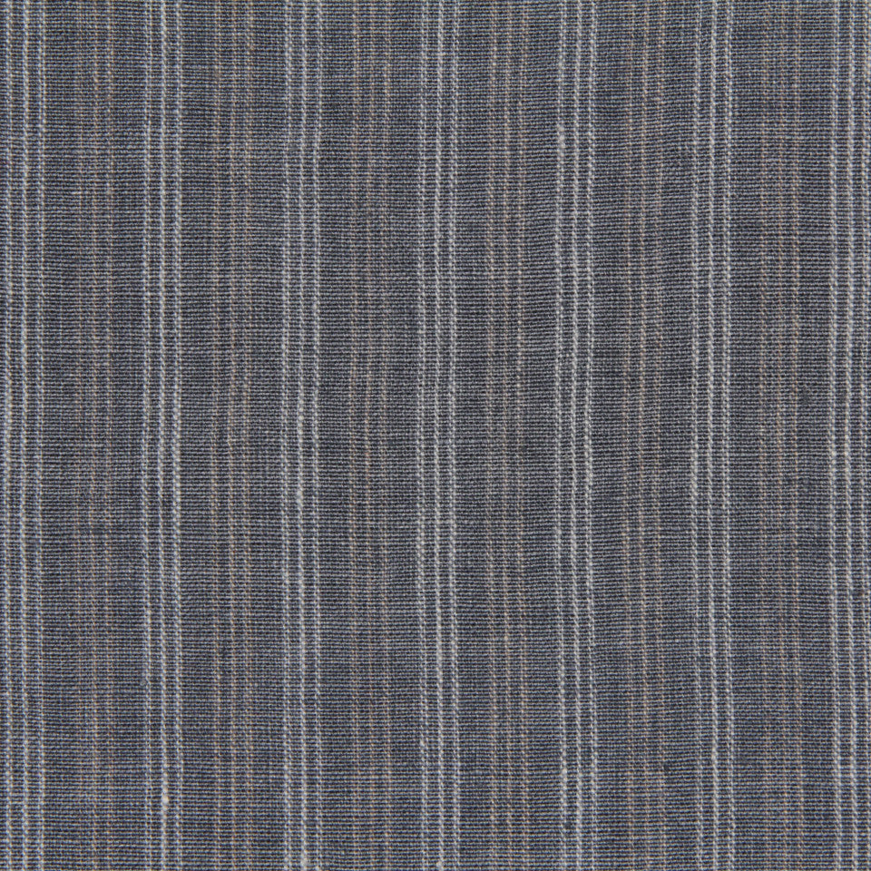 RUSTIC STRIPES AND PLAIDS MP Lowell Stripe Fabric - Slate