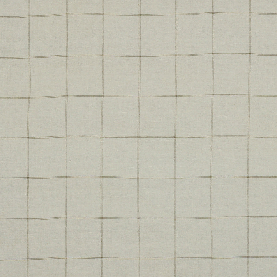RUSTIC STRIPES AND PLAIDS MP Balsam Plaid Fabric - Ivory