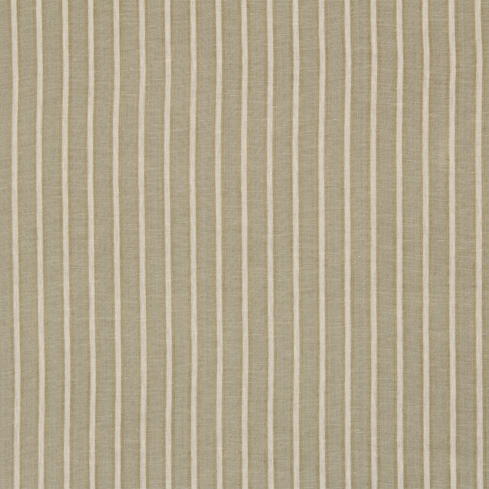 RUSTIC STRIPES AND PLAIDS MP Sawyer Stripe Fabric - Linen