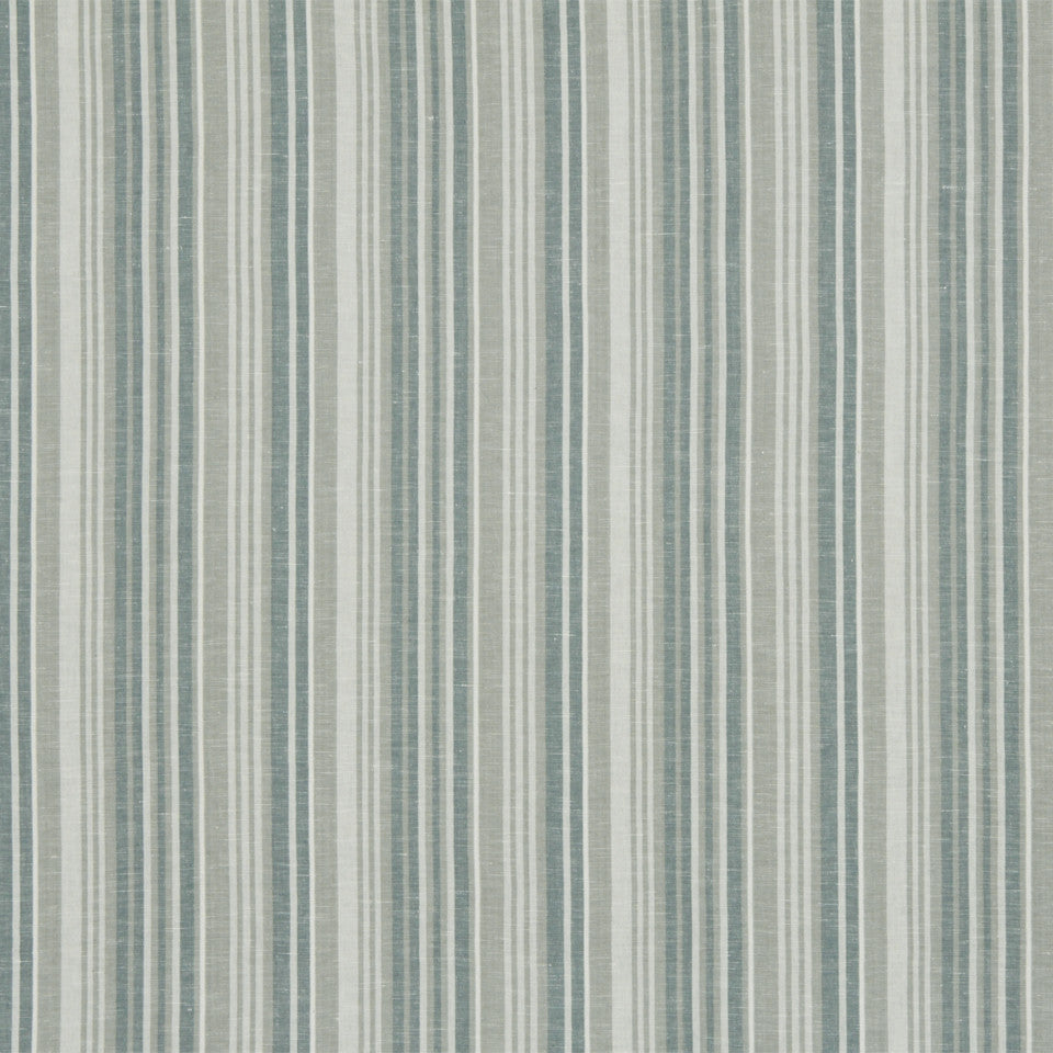 RUSTIC STRIPES AND PLAIDS MP Alice Stripe Fabric - Slate