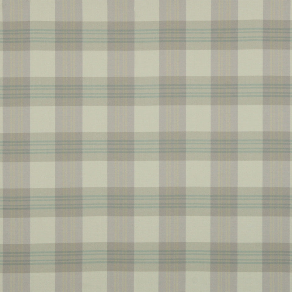 RUSTIC STRIPES AND PLAIDS MP Grant Plaid Fabric - Lilac