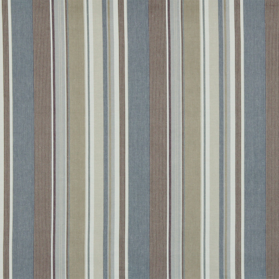 RUSTIC STRIPES AND PLAIDS UPH Dixon Stripe Fabric - Lilac
