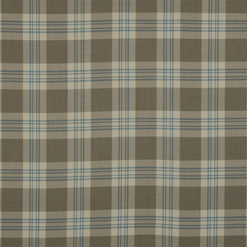 RUSTIC STRIPES AND PLAIDS MP Grant Plaid Fabric - Sandstone