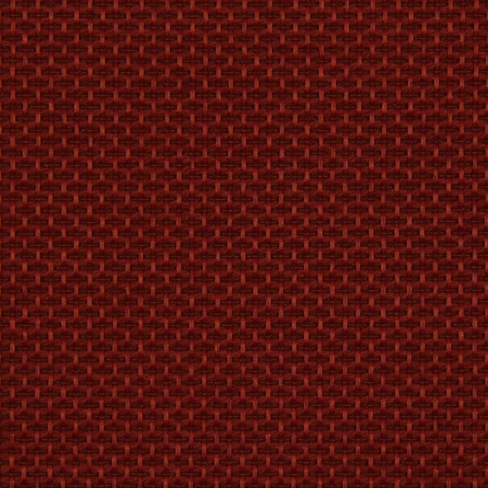 DWELLSTUDIO MODERN LUXURY Maze Solid Fabric - Scarlet