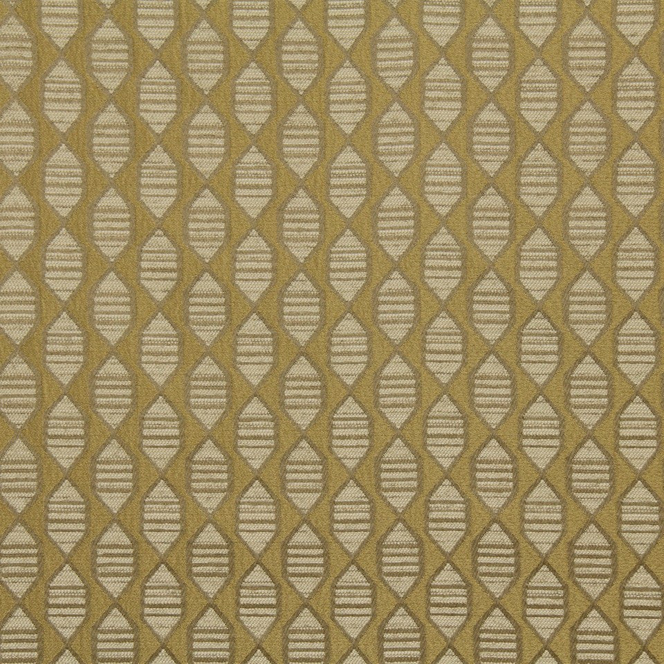 DWELLSTUDIO MODERN LUXURY Ribbon Twist Fabric - Citrine