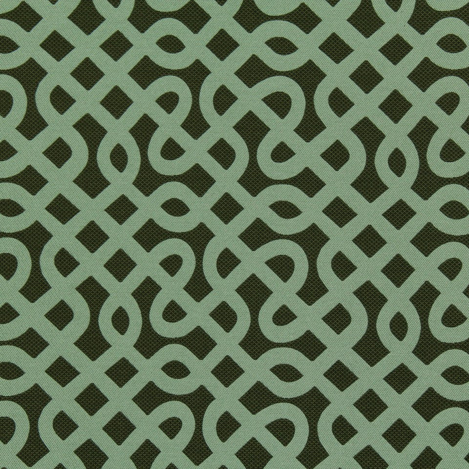 DWELLSTUDIO MODERN LUXURY Graphic Maze Fabric - Patina