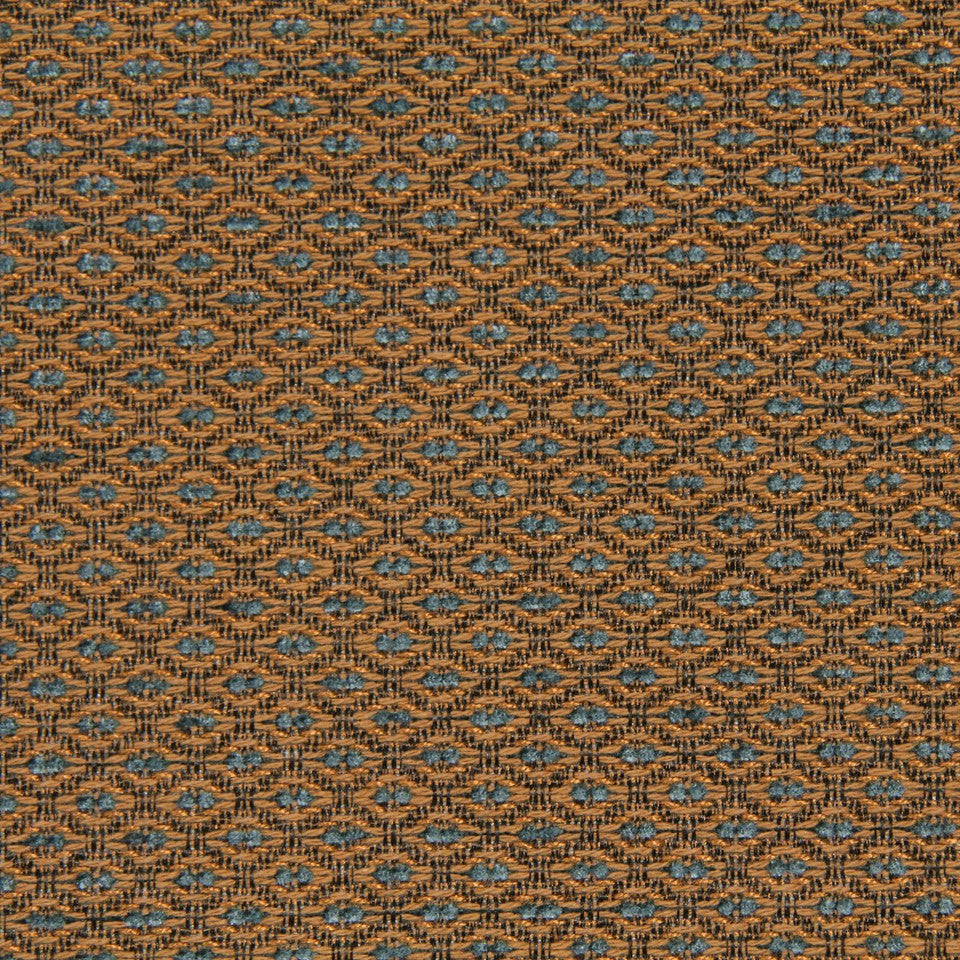 CRYPTON TRANSITIONAL Little Spaces Fabric - Teak