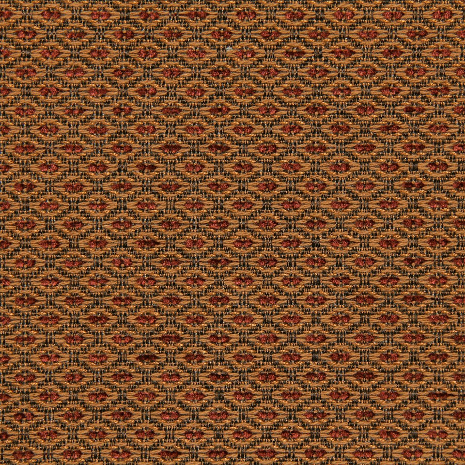 CRYPTON TRANSITIONAL Little Spaces Fabric - Pomegranate