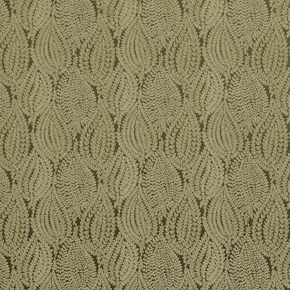 CRYPTON TRANSITIONAL Leaf Pod Fabric - Twine