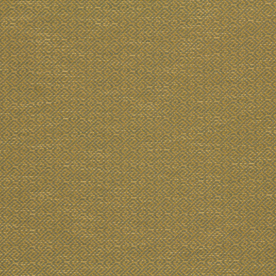 CRYPTON TRANSITIONAL Wave Maze Fabric - Citron