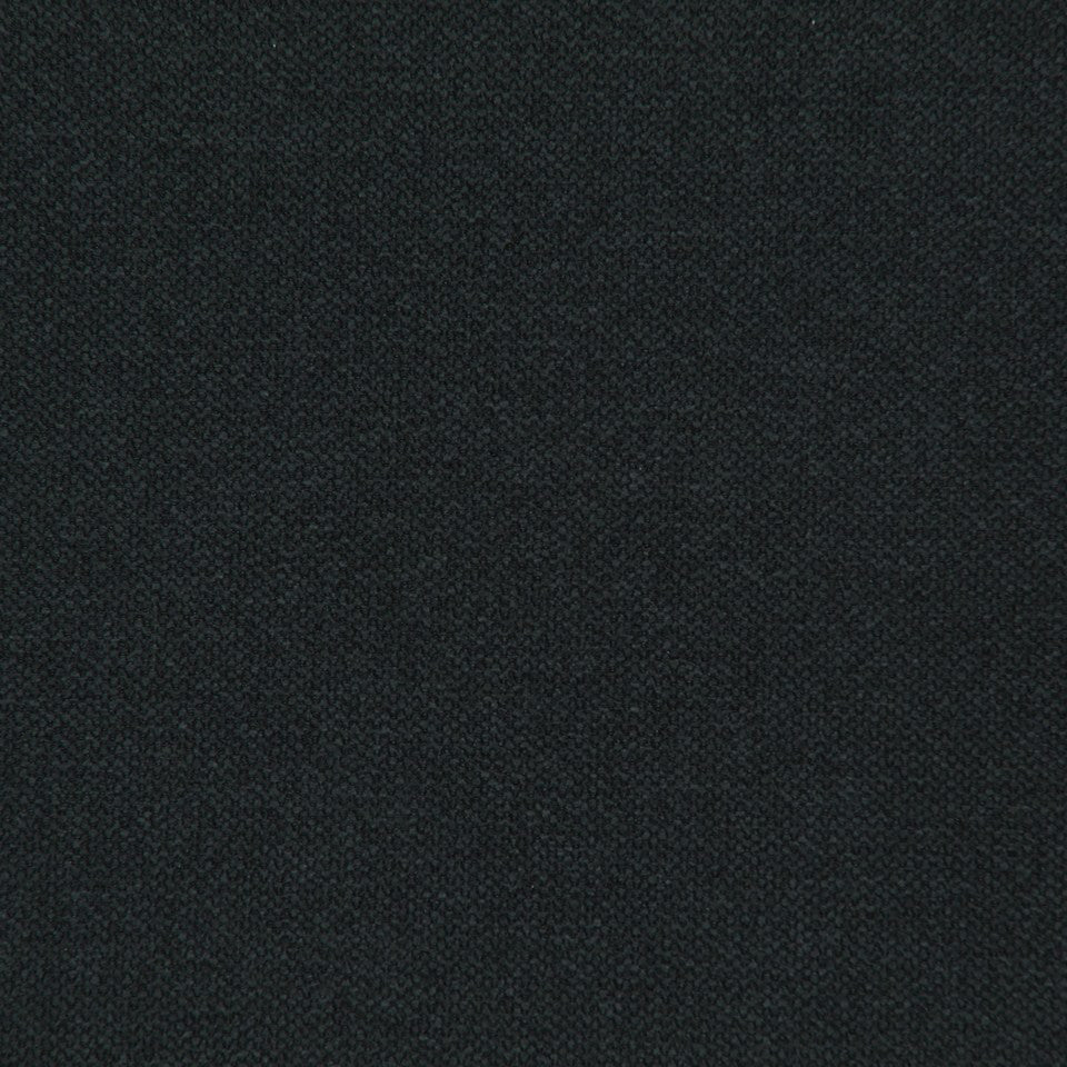 CRYPTON SOLID UPHOLSTERY Small Stitch Fabric - Noir