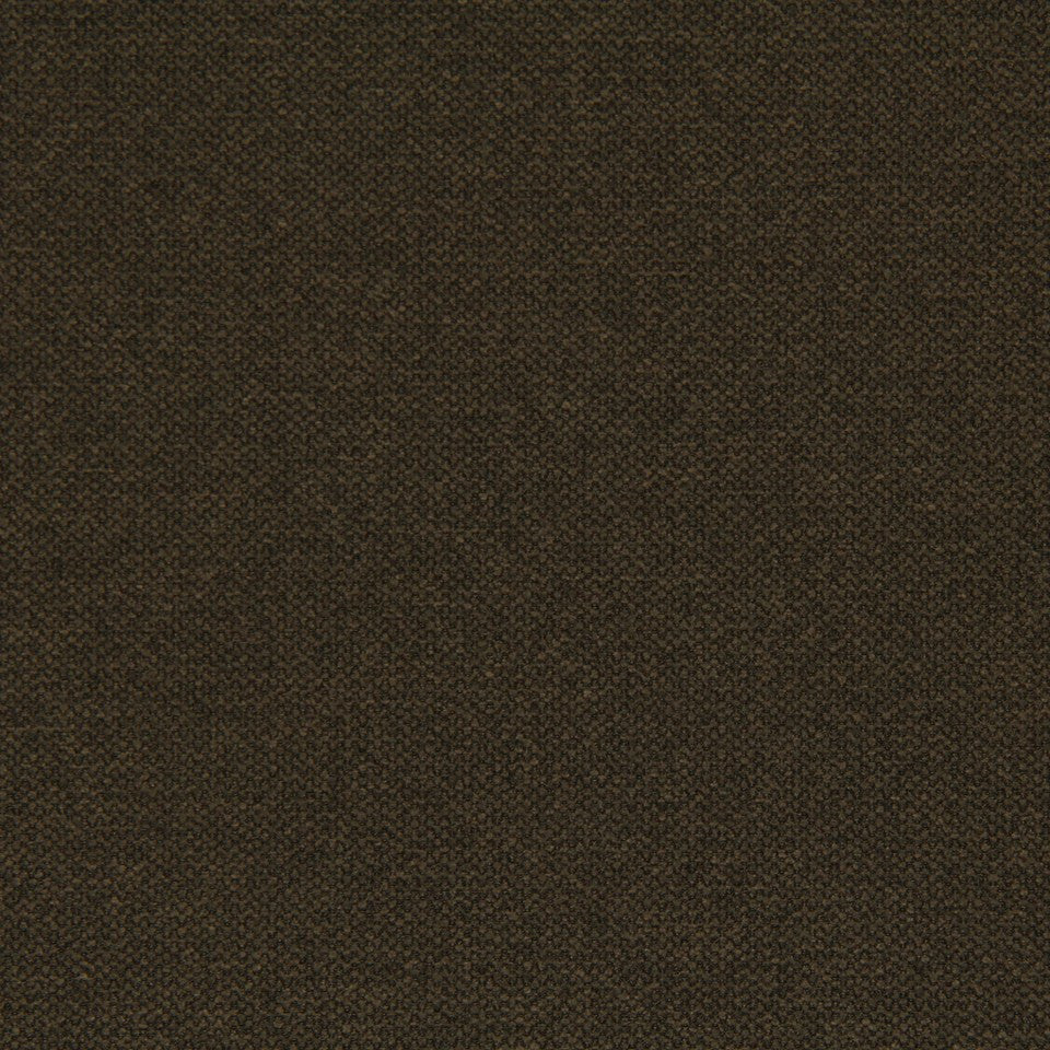 CRYPTON SOLID UPHOLSTERY Small Stitch Fabric - Chocolate