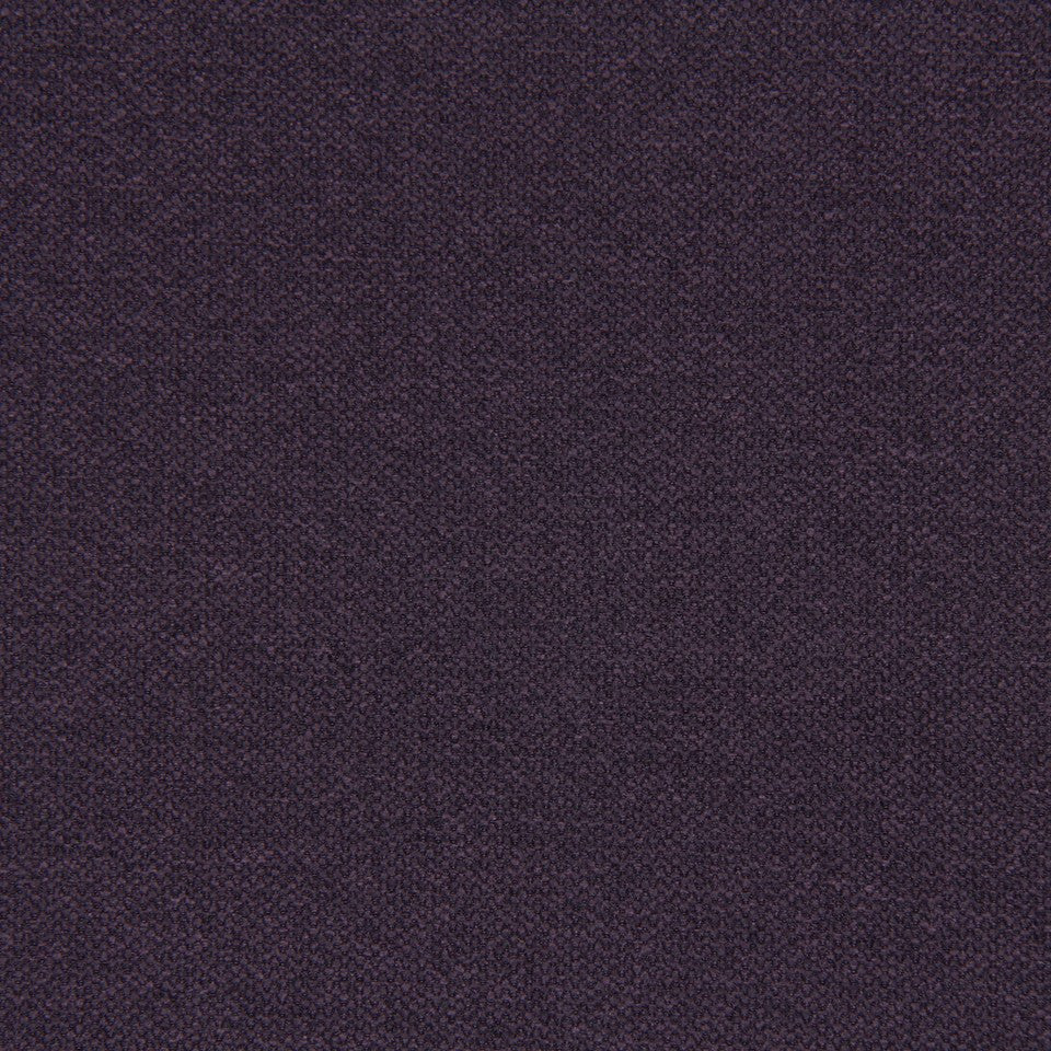 CRYPTON SOLID UPHOLSTERY Small Stitch Fabric - Aubergine