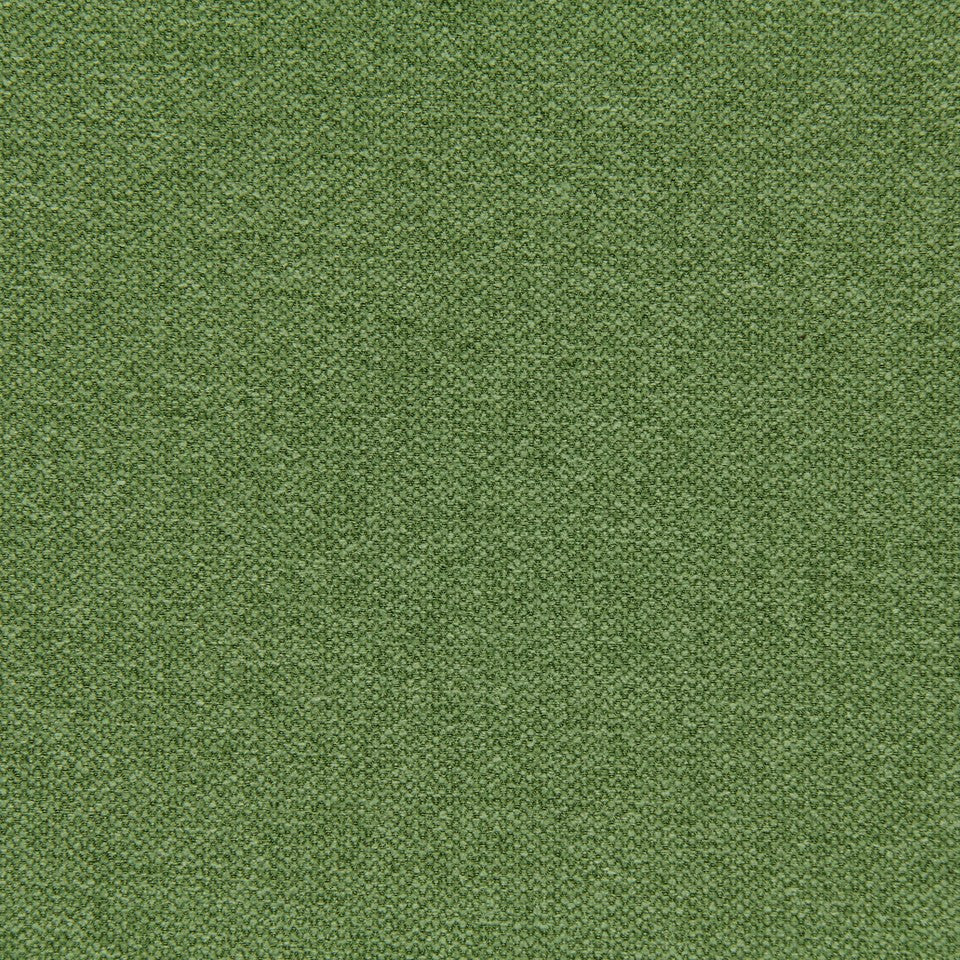 CRYPTON SOLID UPHOLSTERY Small Stitch Fabric - Grass