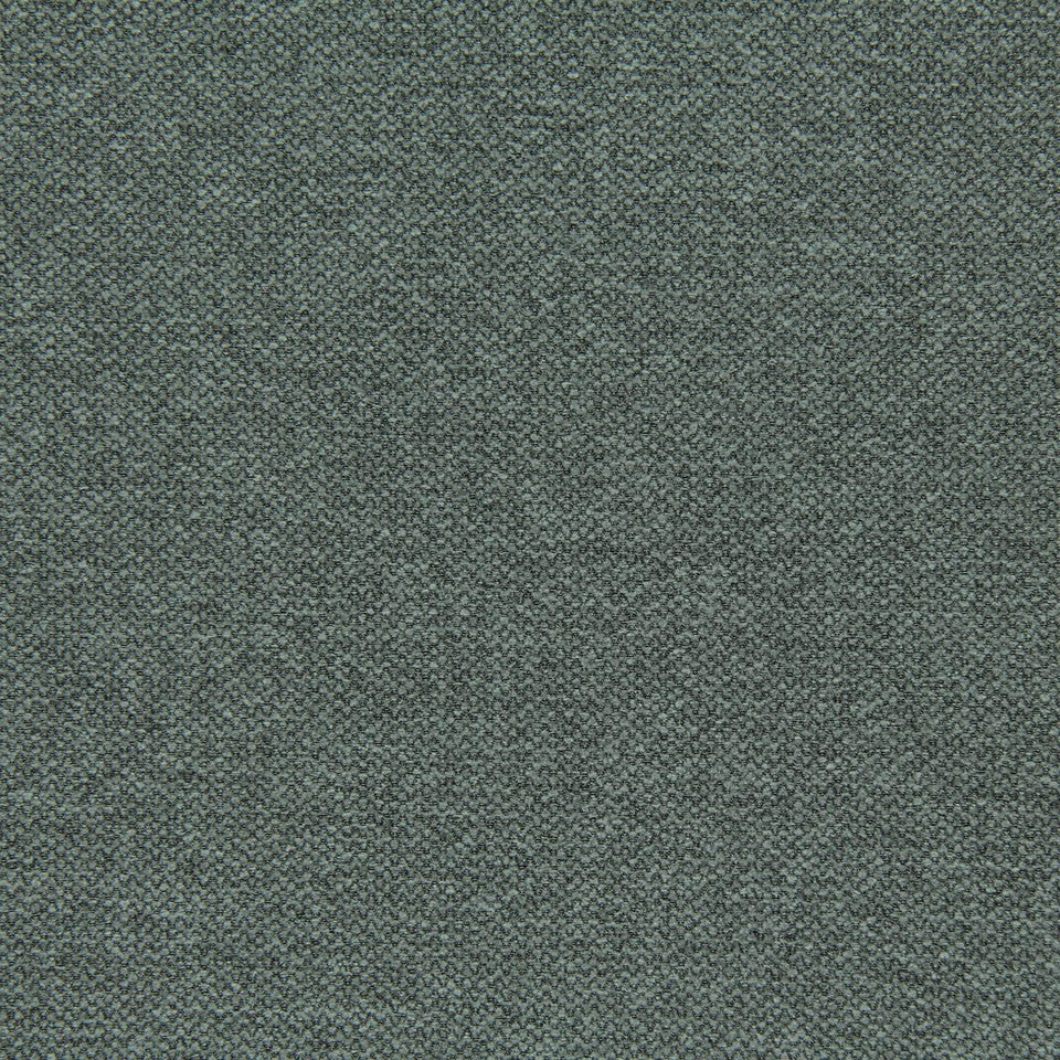 CRYPTON SOLID UPHOLSTERY Small Stitch Fabric - Seal