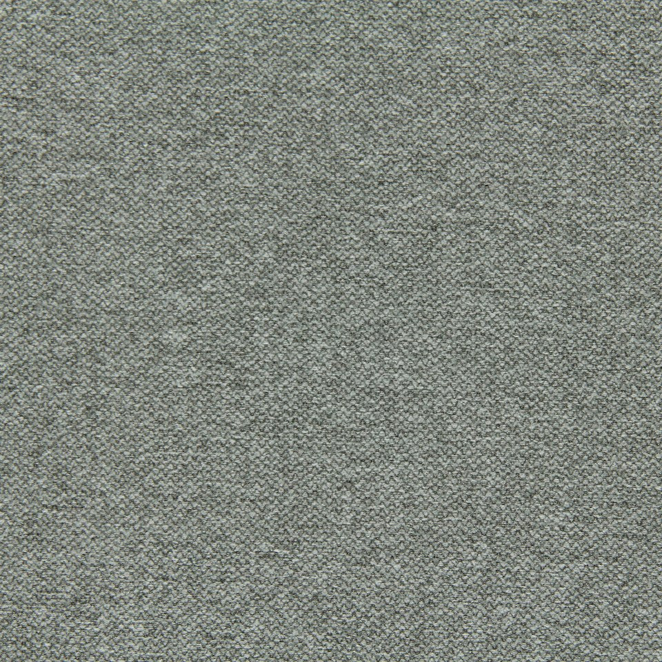 CRYPTON SOLID UPHOLSTERY Small Stitch Fabric - Stone