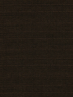 CRYPTON SOLID UPHOLSTERY Modern Canvas Fabric - Chocolate