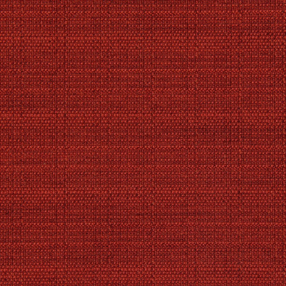 CRYPTON SOLID UPHOLSTERY Modern Canvas Fabric - Pomegranate