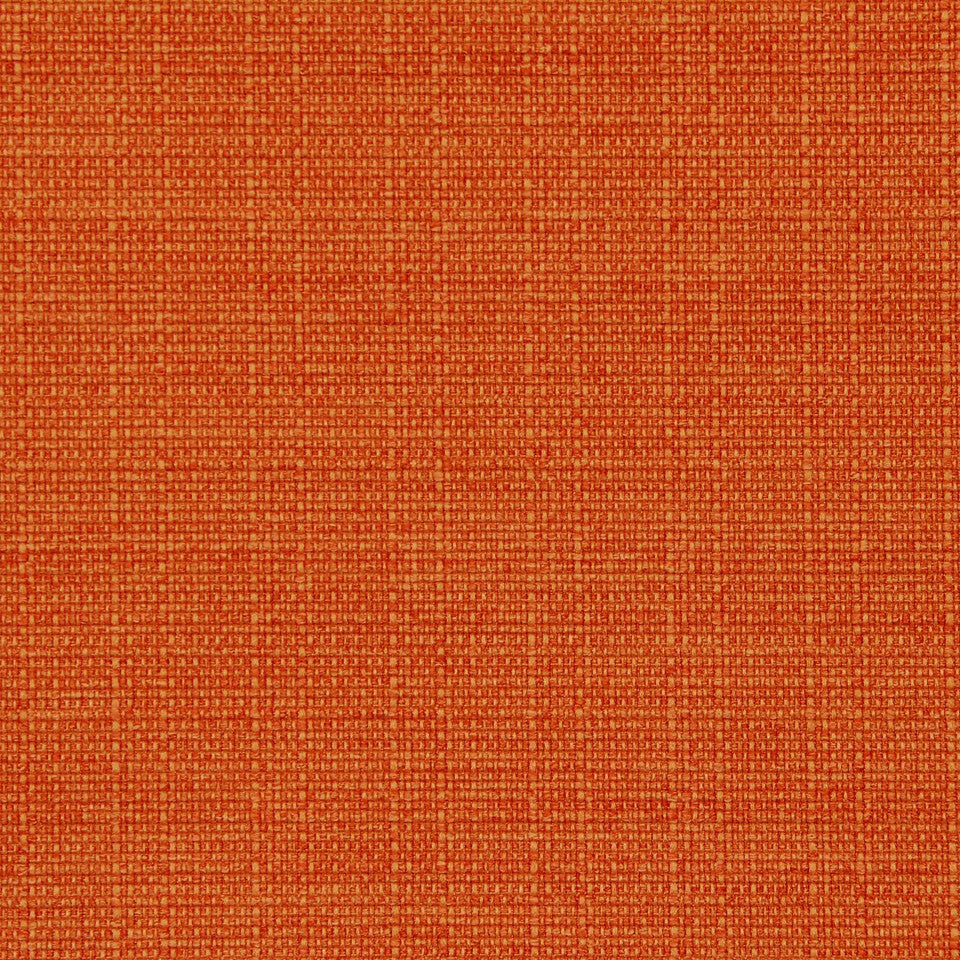 CRYPTON SOLID UPHOLSTERY Modern Canvas Fabric - Pumpkin