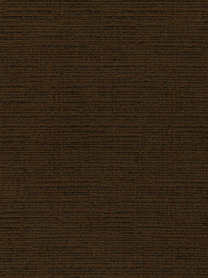 CRYPTON SOLID UPHOLSTERY Mini Chenille Fabric - Chocolate