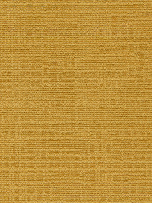 CRYPTON SOLID UPHOLSTERY Mini Chenille Fabric - Mustard
