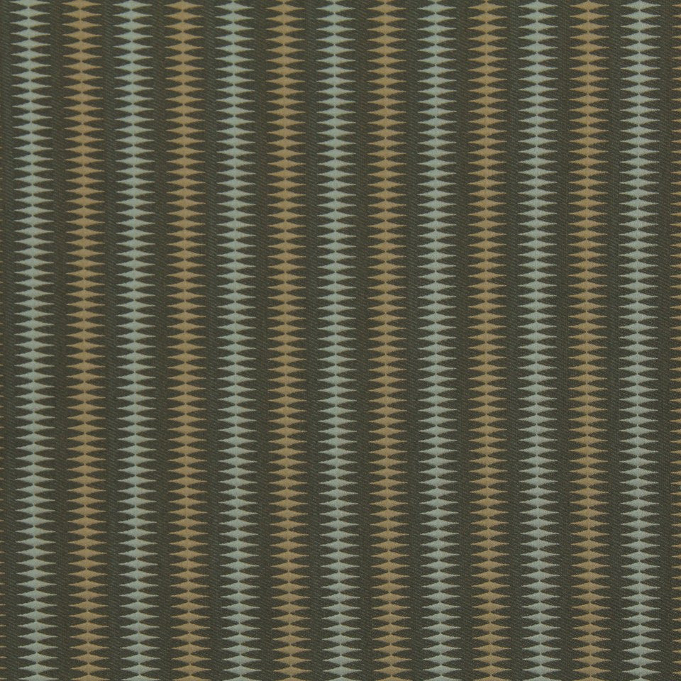 DWELLSTUDIO MODERN LUXURY Bead Stripe Fabric - Shale