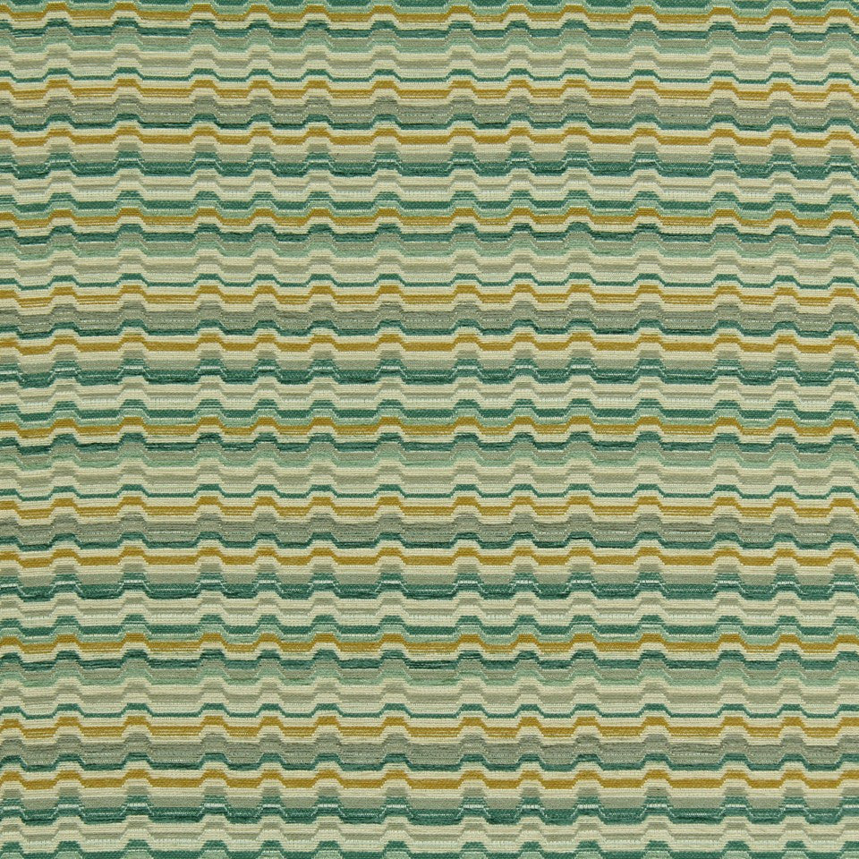 SLATE-TWINE-POOL Road Bump Fabric - Pool