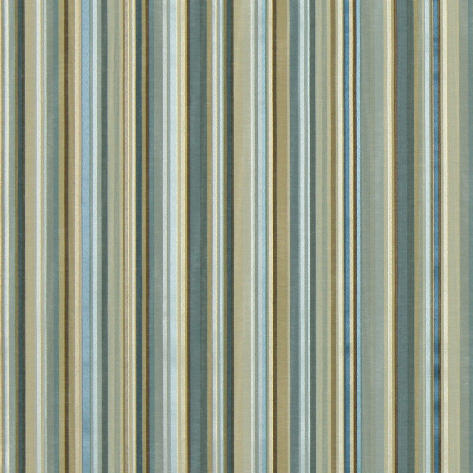 COOL Berra Stripe Fabric - Skyline