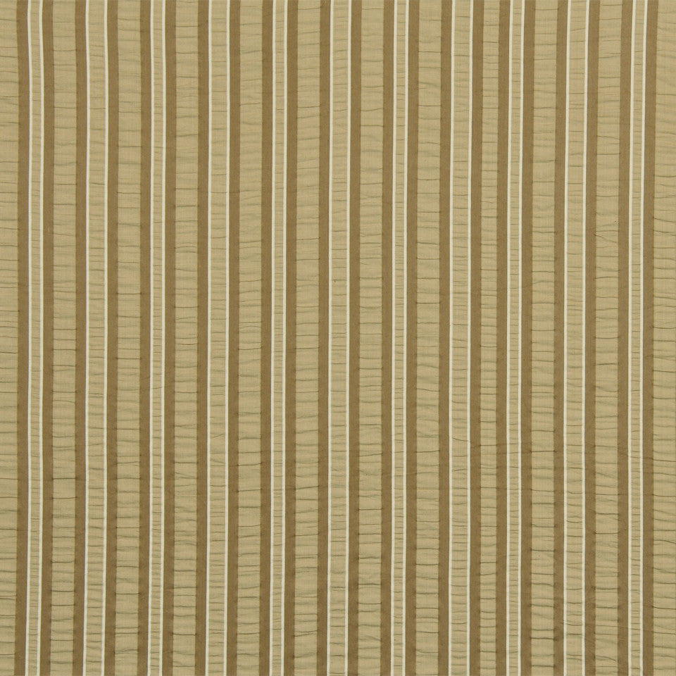 WARM Jay Stripe Fabric - Hay