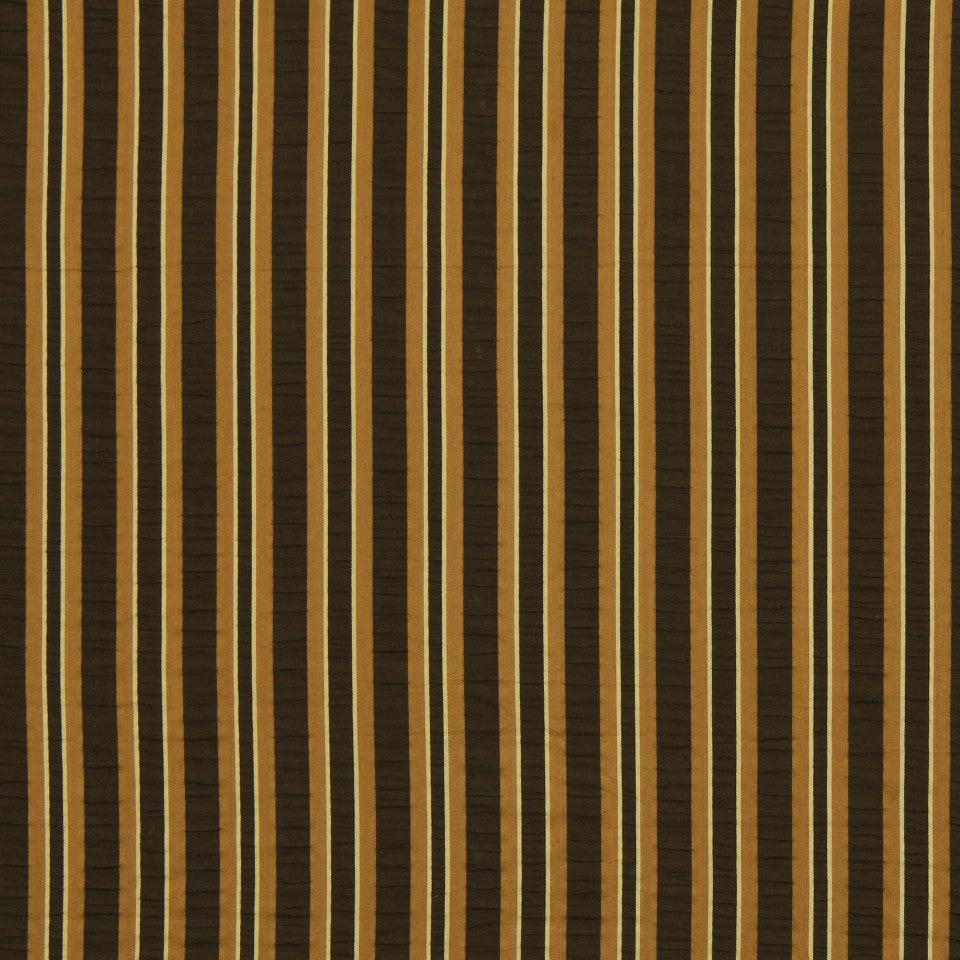 WARM Jay Stripe Fabric - Cedar