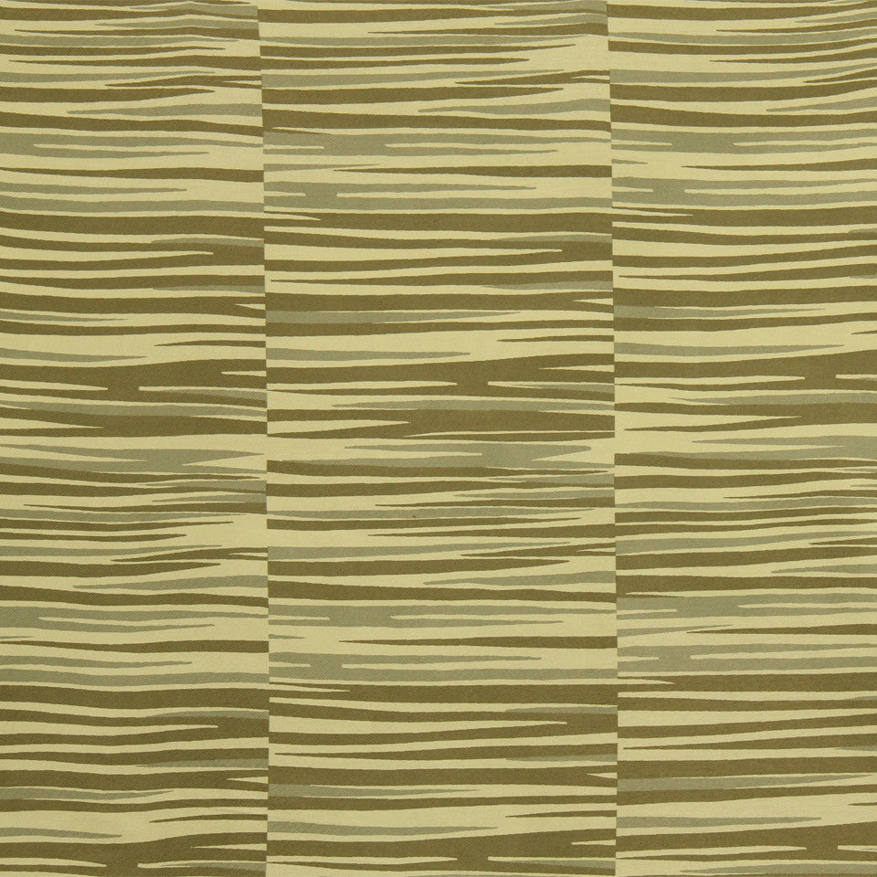 RUSTIC STRIPES AND PLAIDS UPH Tangier Stripe Fabric - Bronze