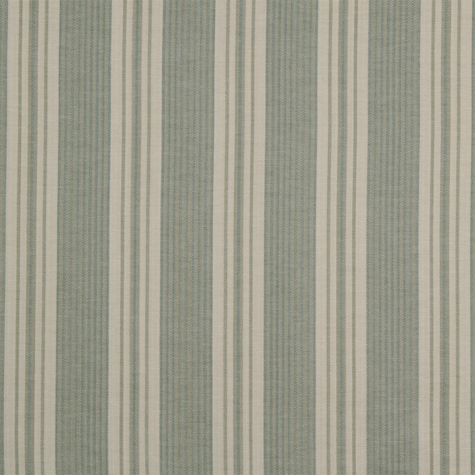 RUSTIC STRIPES AND PLAIDS MP Dakota Stripe Fabric - Slate Linen