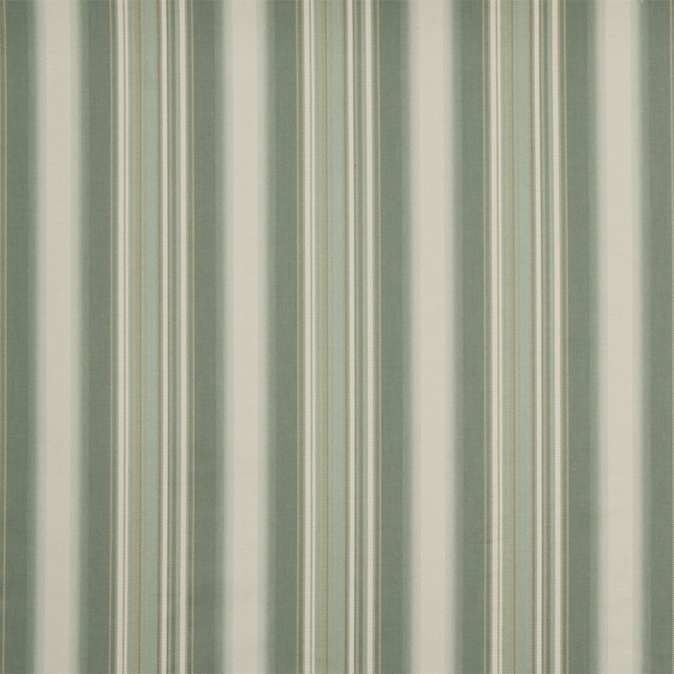 RUSTIC STRIPES AND PLAIDS MP Helena Stripe Fabric - Mineral