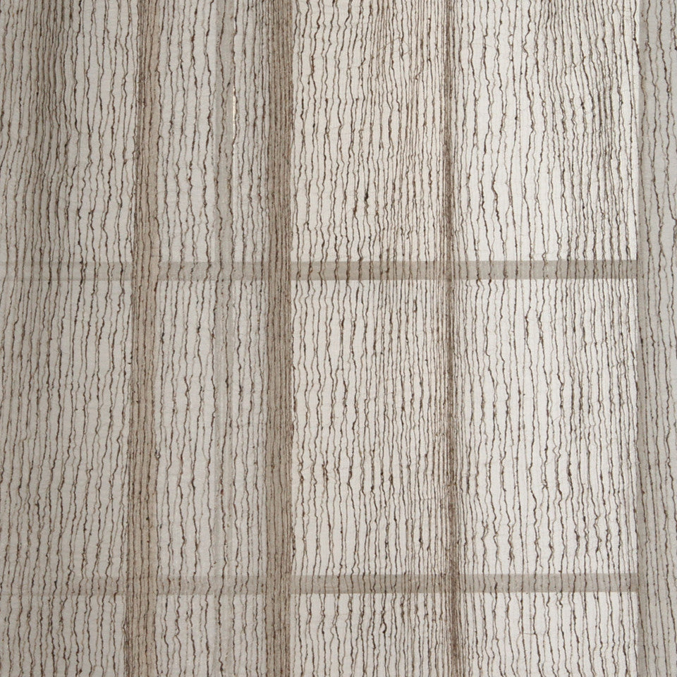 NATURAL SHEERS DARK NEUTRALS Twin Threads Fabric - Hemp
